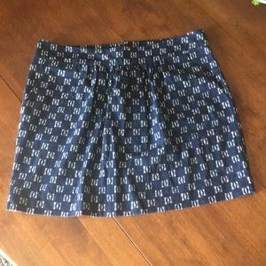 GAP ikat print skirt sz 12